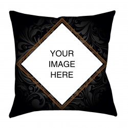 Abstract Floral Design Photo Cushion