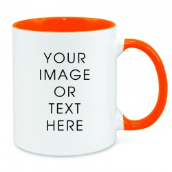 Orange Dual Tone Mug