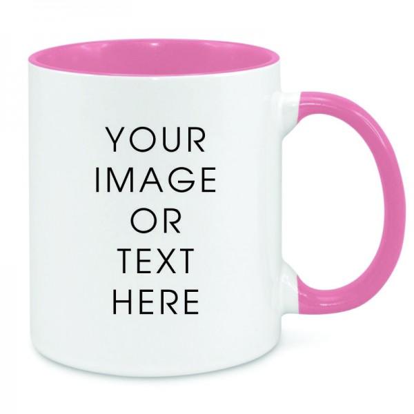 Pink Dual Tone Mug