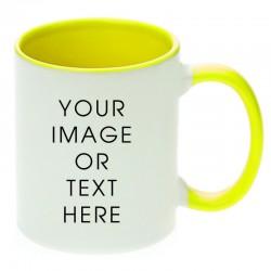 Yellow Dual Tone Mug