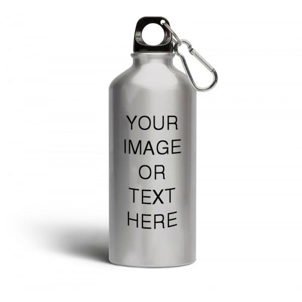 Silver Sipper Bottle 600ML