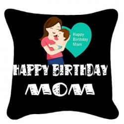 Happy Birthday Design Photo Cushion