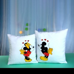 Cartoon Design Photo Cushion