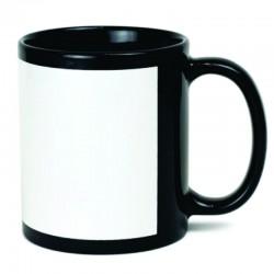 Customized Black Patch Mug